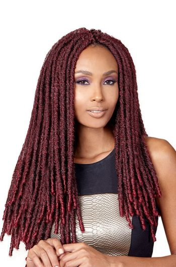 Bobbi Boss Bomba Faux Locs Soul 18 Model Front 1