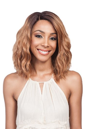 Bobbi Boss Lace Front MLF194 Gabi Swiss Lace Premium Synthetic Wig Model Front