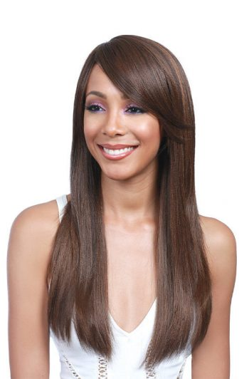 Bobbi Boss Lace Front MLF917 Harper Premium Synthetic Wig Model Front