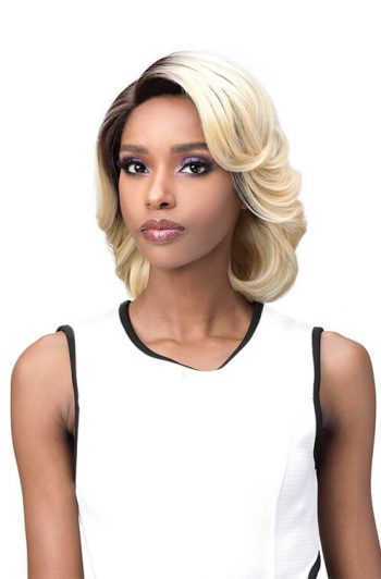 Bobbi Boss TrulyMe MLF501 Vivian Premium Synthetic Lace Front Wig Model 1