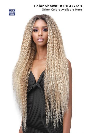 Bobbi Boss Lace Front Human Hair MBLF002 Julia Glueless Lace Wig