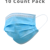 Disposable Face Masks – 10 ct Pack