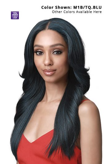 Bobbi Boss Lace Front MLF471 Darcy Double-Laced Premium Synthetic Wig Front View