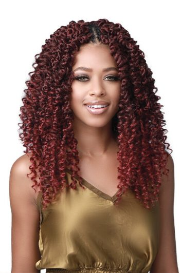 "Bobbi Boss Passion Twist Boho 14"" Model Front"