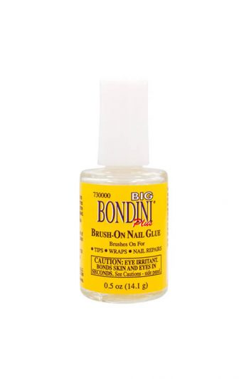 Bondini Big Bondini Plus Brush-On Nail Glue 0.5 oz