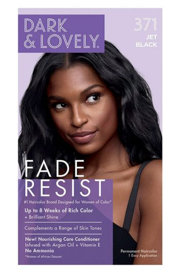 Dark and Lovely Fade Resist #371 Jet Black