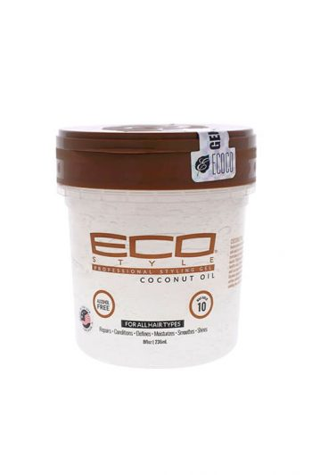 Ecoco Eco Style Coconut Oil Professional Styling Gel 8 oz