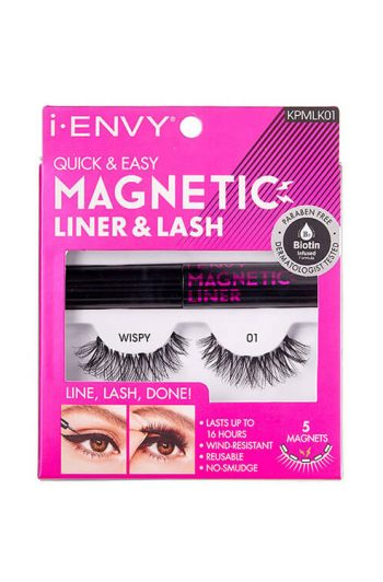 Kiss i-Envy KPMLK01 Quick and Easy Magnetic Liner and Lash Kit