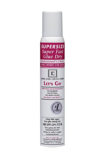 Isabel Christina Let's Go Super Fast Glue Dry 8 oz