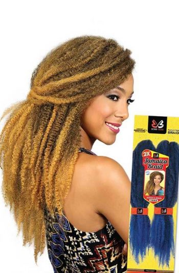 Bobbi Boss Jamaica Braid Model With Packaging