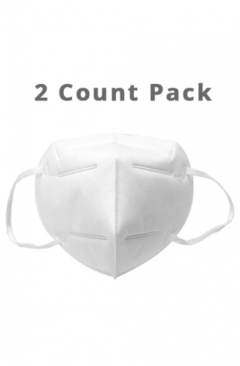 KN95 Disposable Face Mask without Valve (2ct)