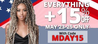 Save an additional 15% on everything! May 23-25 only.