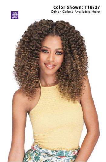 Bobbi Boss Brazilian Deep Wave 10 in. Braid Front 1
