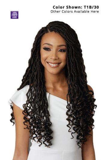 Bobbi Boss Diva Locs 18 in. Crochet Hair 3x Pack Front 1