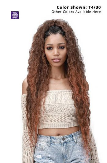 """Bobbi Boss King Tips Wet and Wavy Style 28"""" Pre-Feathered Tips 3x Pack Front"""