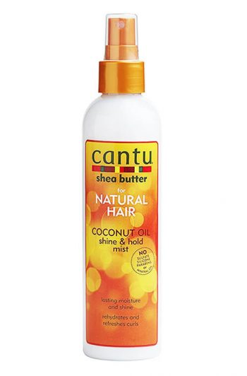 Cantu Coconut Oil Shine and Hold Mist 8 oz