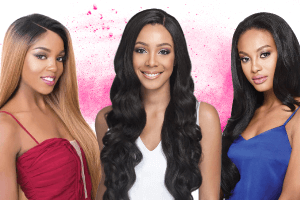 Hundreds of wigs on sale. Look for Bobbi Boss, Outre, Vivica Fox, Model Model, and other popular brands.
