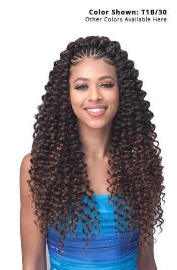 "Bobbi Boss Pineapple Deep 18"" Braid Front"