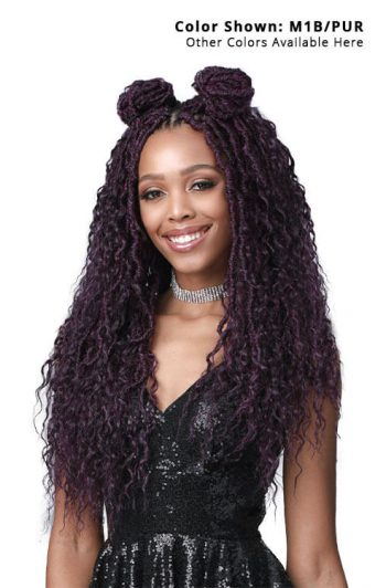 Bobbi Boss Nu Locs French Deep Boho Style 20 in. 2x Pack Bun