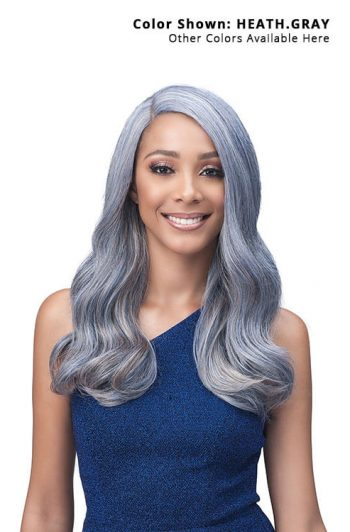 Bobbi Boss TrulyMe MLF420 Janice Lace Front Wig Model Front