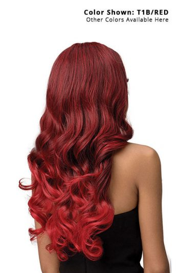 Bobbi Boss TrulyMe MLF421 Shayne Lace Front Wig Model Rear