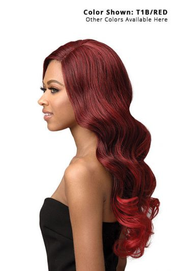 Bobbi Boss TrulyMe MLF421 Shayne Lace Front Wig Model Side