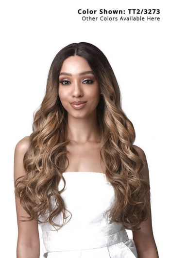 Bobbi Boss TrulyMe MLF426 Marcia Lace Front Wig Model Front