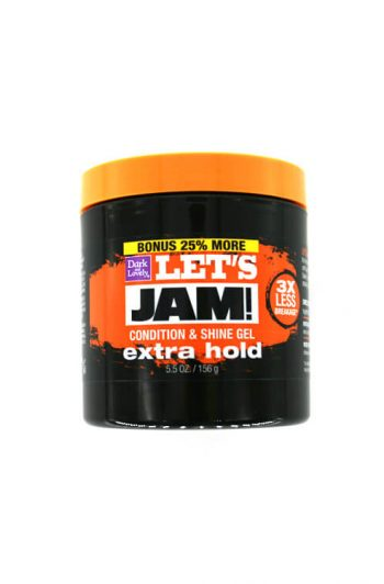 Dark and Lovely Let's Jam Extra Hold Condition and Shine Gel 5.5OZ