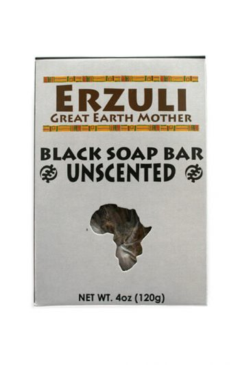 Erzuli Unscented Black Soap Bar 4 oz