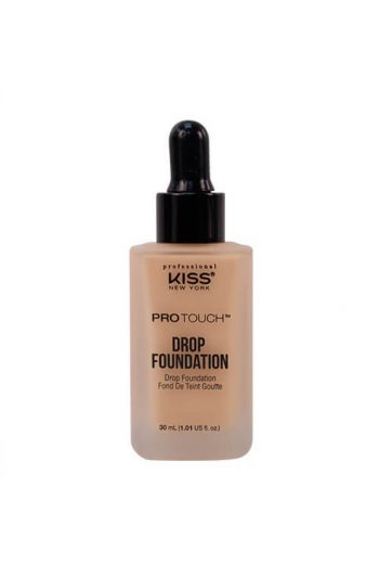 Kiss New York Professional Pro Touch Drop Foundation Sun Beige