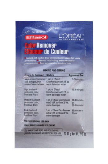 L'Oreal Technique Effasol Color Remover Packet 0.88 oz