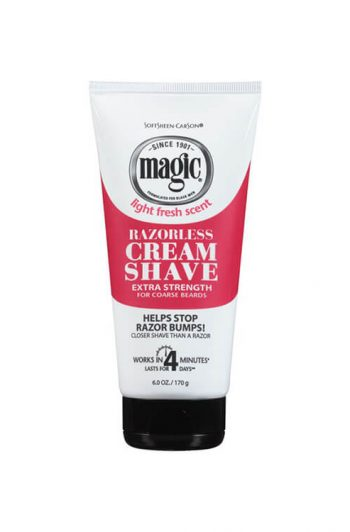Magic Razorless Cream Shave Extra Strength 6OZ