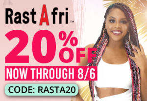 RastAfri Brand Sale: 20% Off now through August 6, 2020 with Code RASTA20