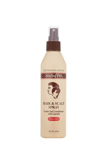 SoftSheen Carson Sta-Sof-Fro Hair and Scalp Spray 8OZ