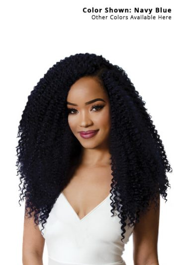 "RastAfri Water Wave 16"" Crochet Braiding Hair"