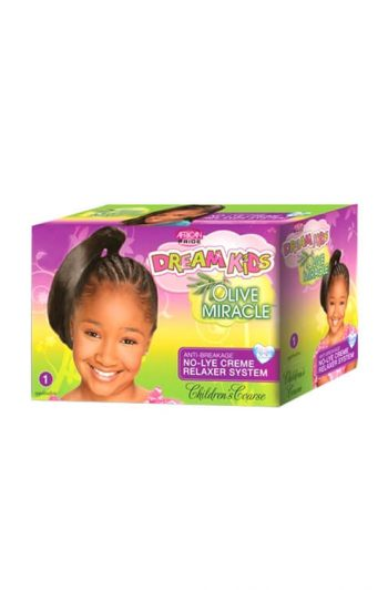 African Pride Dream Kids Olive Miracle Relaxer System Children's Coarse