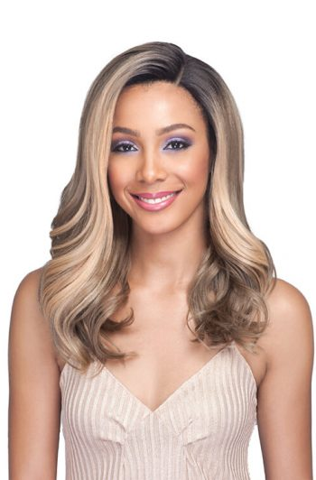Bobbi Boss Lace Front MLF352 Draya Swiss Lace Premium Synthetic Wig Front