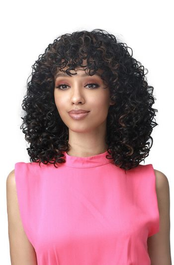Bobbi Boss M568 Kinzie Premium Synthetic Full Cap Wig Model Front