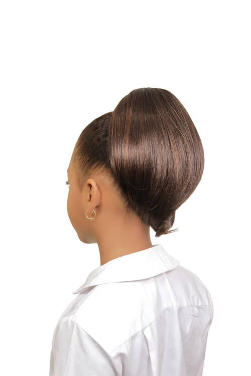 Eve Hair My Angel Kid-3 Drawstring Synthetic Ponytail Back
