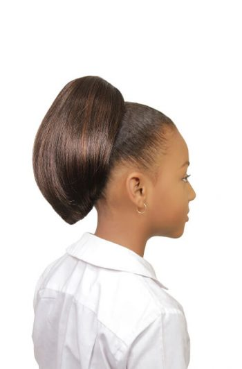 Eve Hair My Angel Kid-3 Drawstring Synthetic Ponytail Side