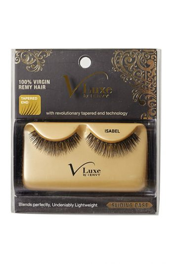 Kiss i-Envy V-Luxe 100% Virgin Remy Hair Lashes Isabel