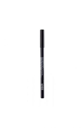 Kiss New York Professional Eye And Eyebrow Pencil Blackest Black