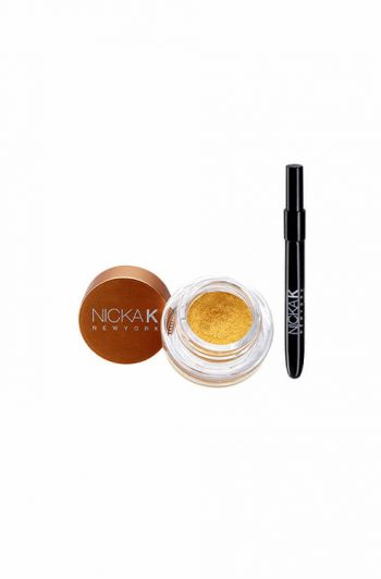 Nicka K New York Gel Eyeliner With Brush Gold