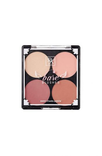 Ruby Kisses Bare Blusher Sweet Cheeks Palette Baring Bare