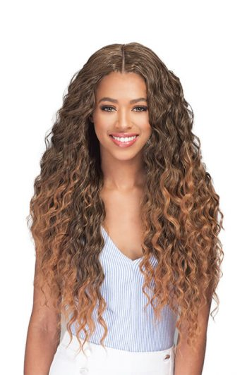 Bobbi Boss Miss Origin Designer Mix Natural Ocean Wave Bundle Hair 3PC Plus Front