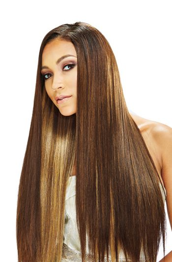 """Bobbi Boss Forever Nu Silky Yaky Premium Weave in 12"""" 14"""" and 18"""" Lengths Front"""