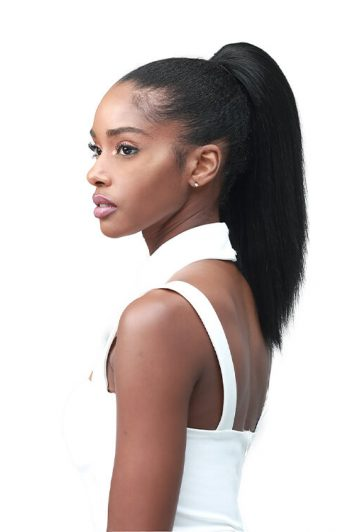 "Bobbi Boss Miss Origin Designer Mix Tress Up Yaky Straight 14"" Synthetic Ponytail"