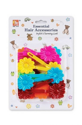 Beauty Town Kids Daisy Barrettes Assorted