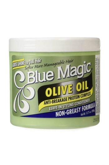 Blue Magic Olive Oil Leave-In Styling Conditioner 13.75 oz