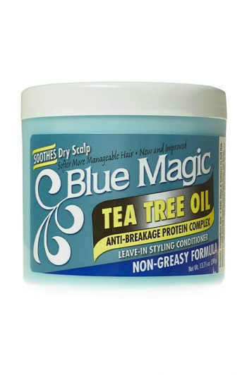 Blue Magic Tea Tree Oil Leave-In Styling Conditioner 13.75 oz